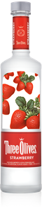 Three Olives Vodka Strawberry 1.00l